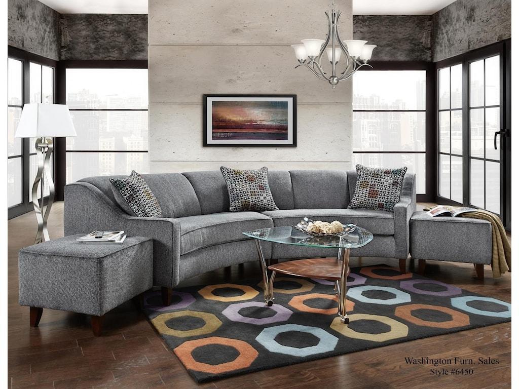 Washington Furniture Jesse PepperJesse Pepper Curved
