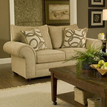 Washington 2120Traditional Loveseat