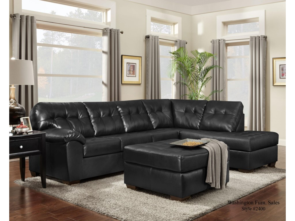 Washington 2400Chaise Sectional