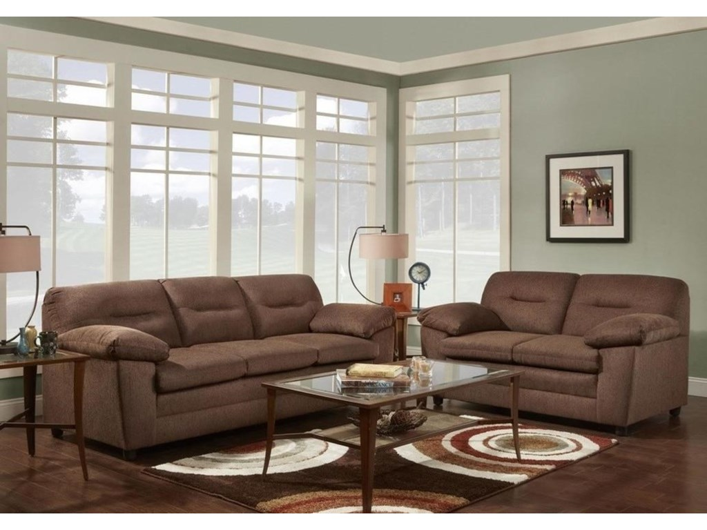 Washington Furniture 3670Love Seat