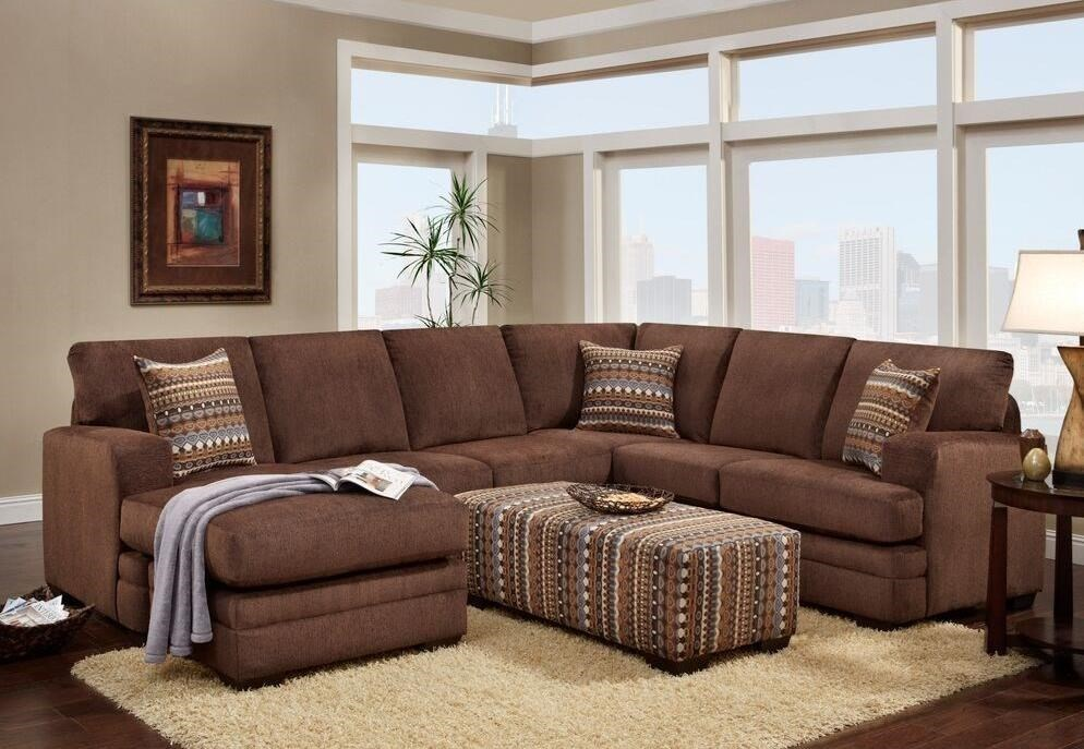 Washington Furniture 4160Sectional with Chaise