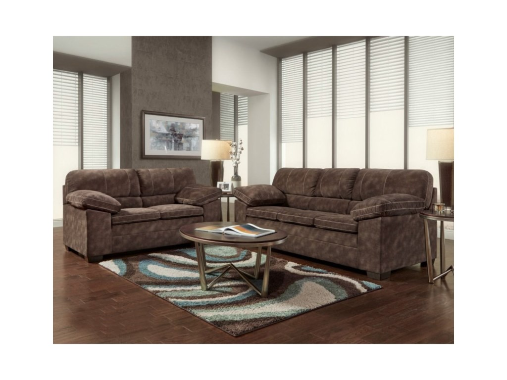 Washington 4650Love Seat