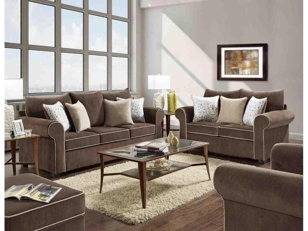 Washington PKG5043SC3Sofa & Chair Package