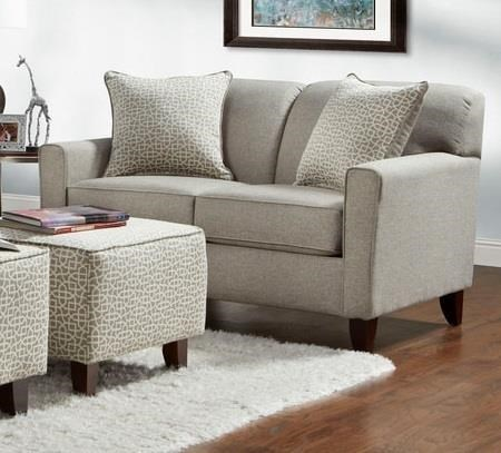 Washington Furniture Lucy Slate Loveseat   Great American Home Store   Love  Seats
