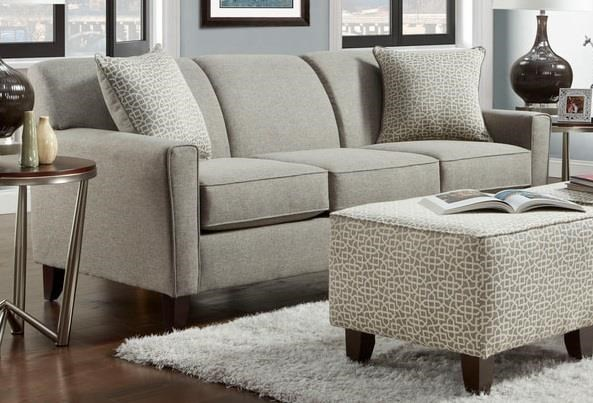 Washington Furniture Lucy Slate Sofa   Great American Home Store   Sofas