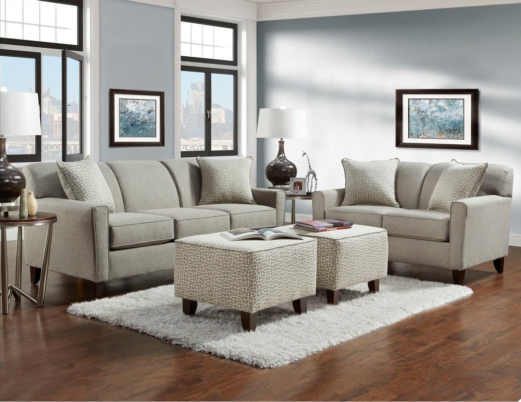 Washington Furniture Lucy Slate Sofa