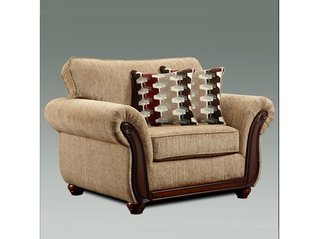 Washington Furniture 8100 WashingtonUpholstered Chair