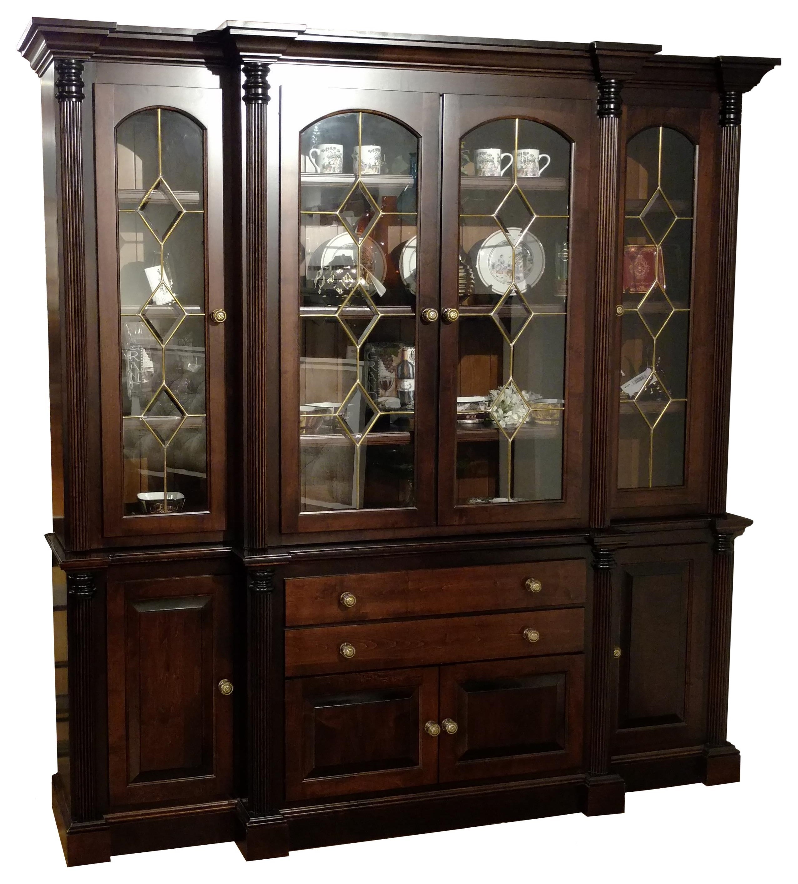 Superbe Wayside Custom Furniture Amish Clearance 2pc China Cabinet