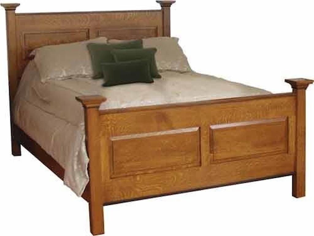 Wayside Custom Furniture BrookstoneQueen Bed