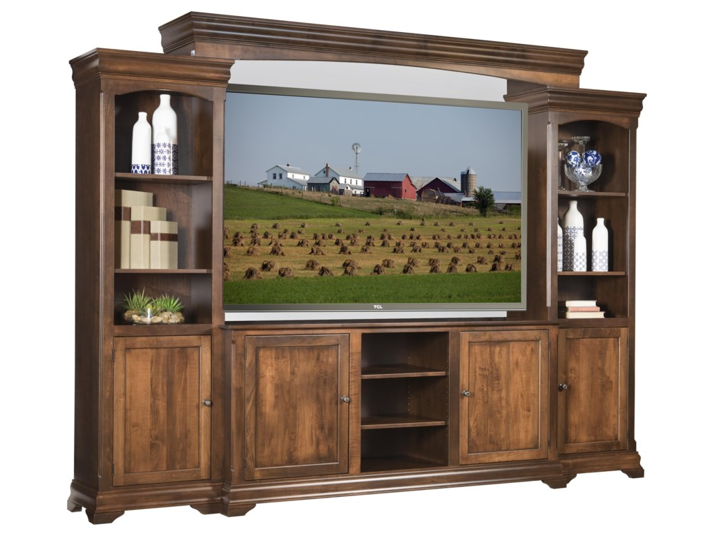 Wayside Custom Furniture ChateauChateau Entertainment Center