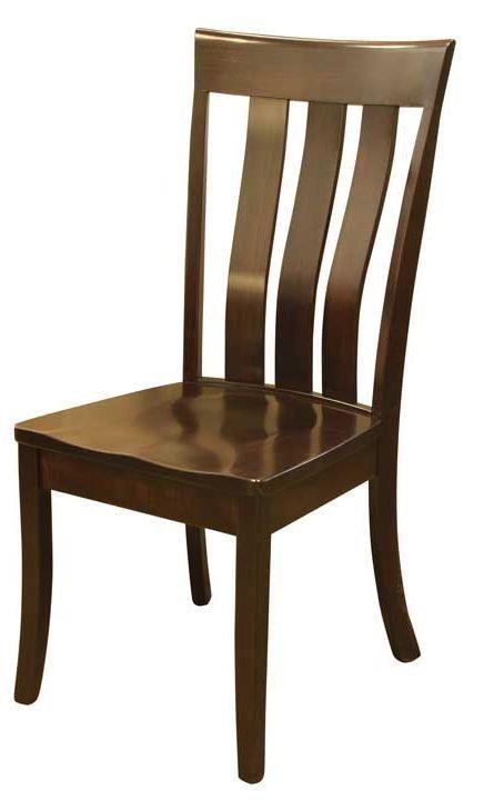 Bon Wayside Custom Furniture Amish Dining Chairs Clear Creek