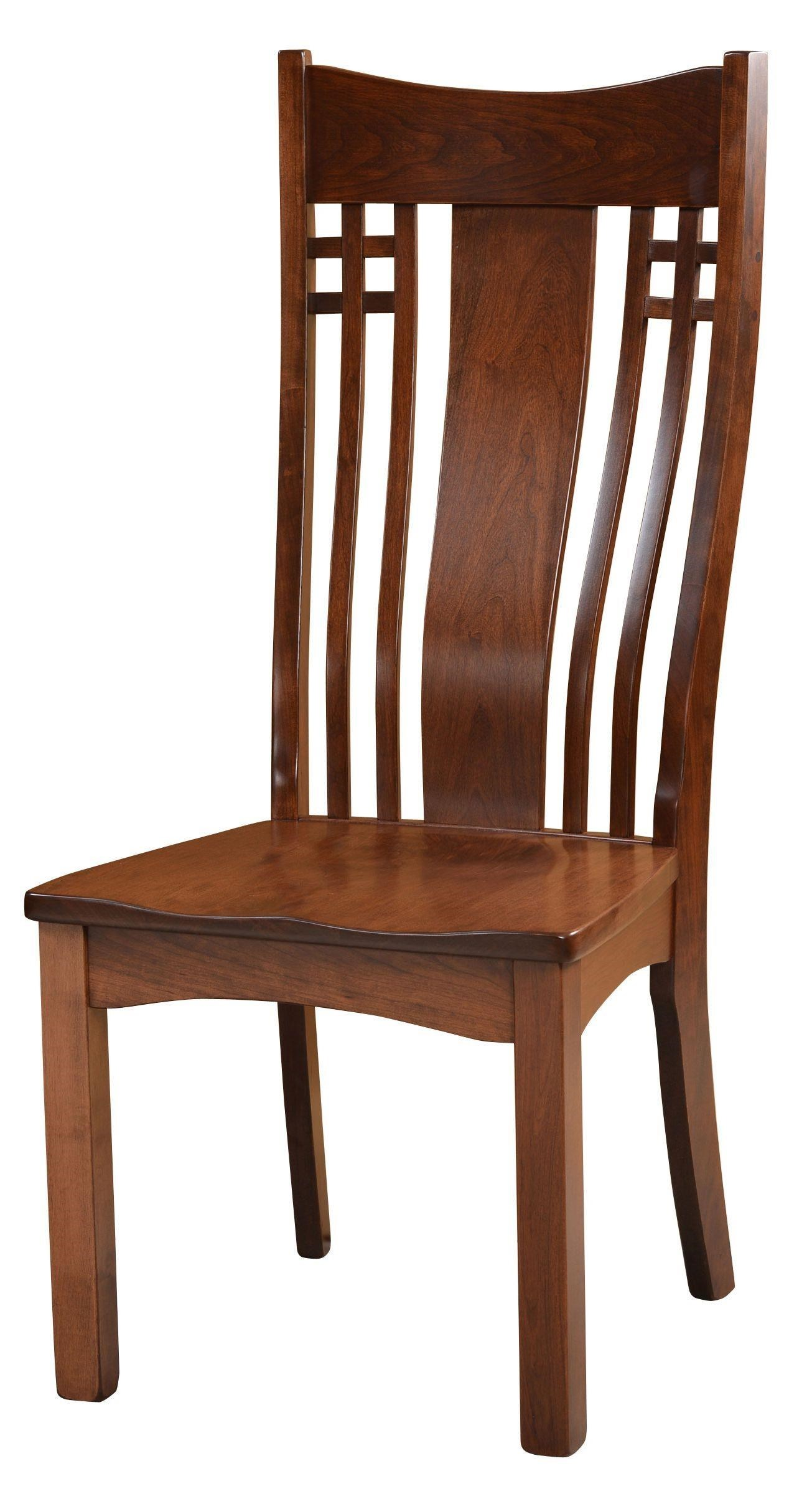 Wayside Custom Furniture Amish Dining Chairs Larson