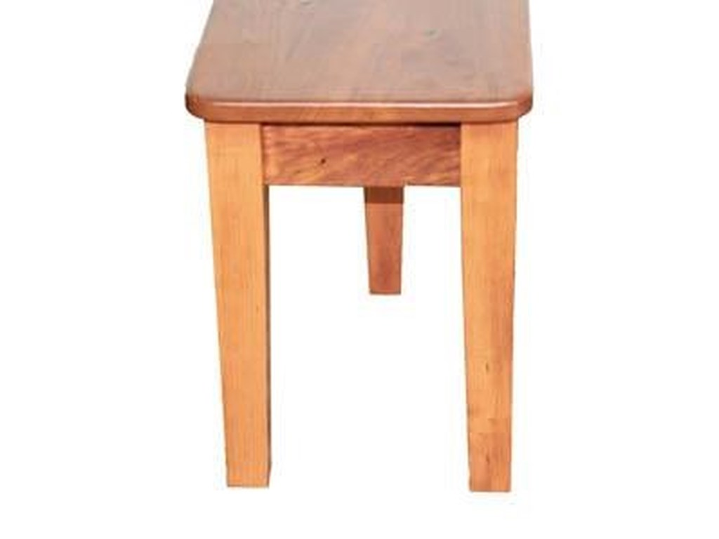 Wayside Custom Furniture Casual DiningShaker Extend-A-Bench