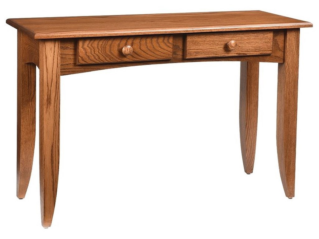Wayside Custom Furniture Modern MissionSofa Table