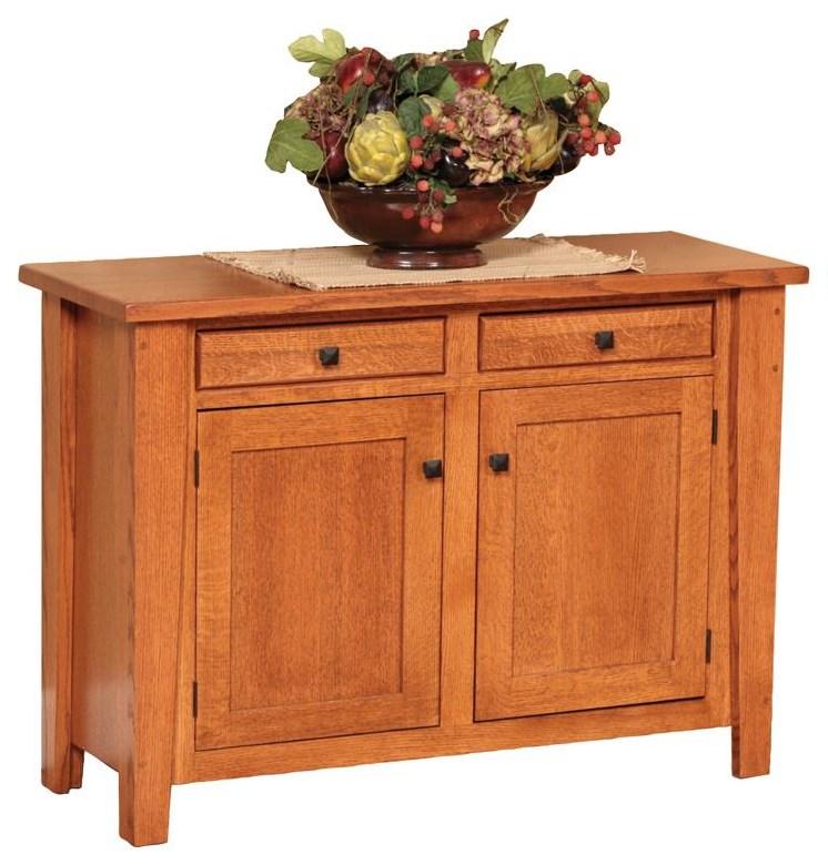 Wayside Custom Furniture Ashford Enclosed Enclosed Sofa Table