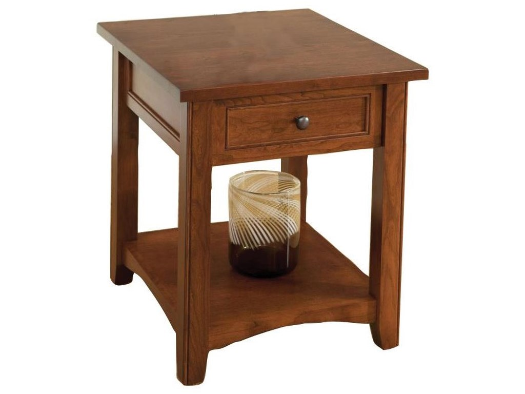 Wayside Custom Furniture MadisonEnd Table