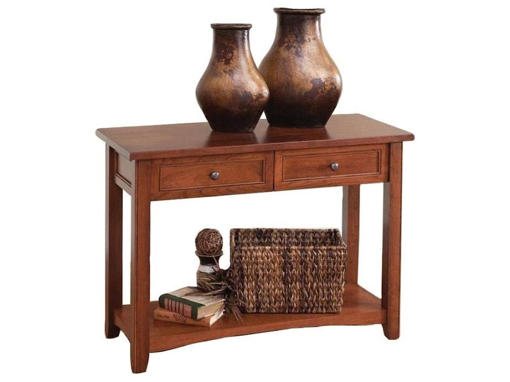 Wayside Custom Furniture MadisonSofa Table