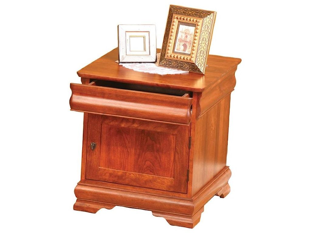 Wayside Custom Furniture Louie PhilippeEnd Table