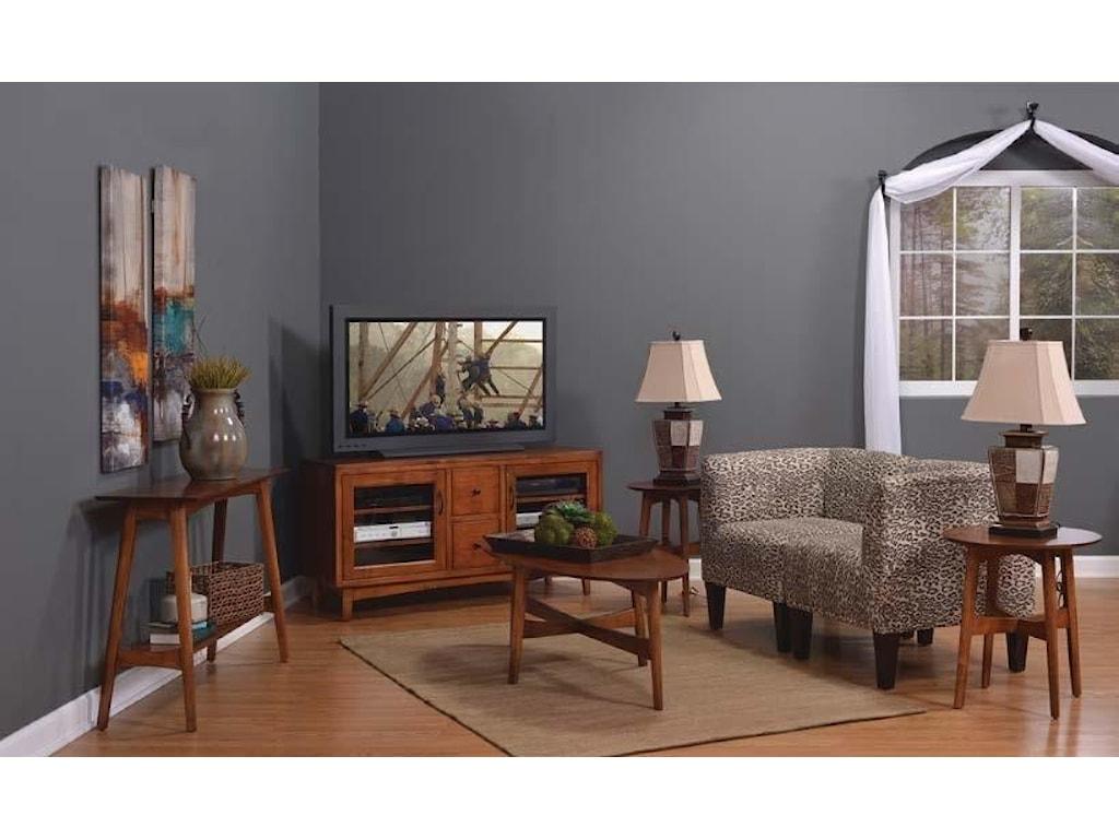 Wayside Custom Furniture LodiSofa Table