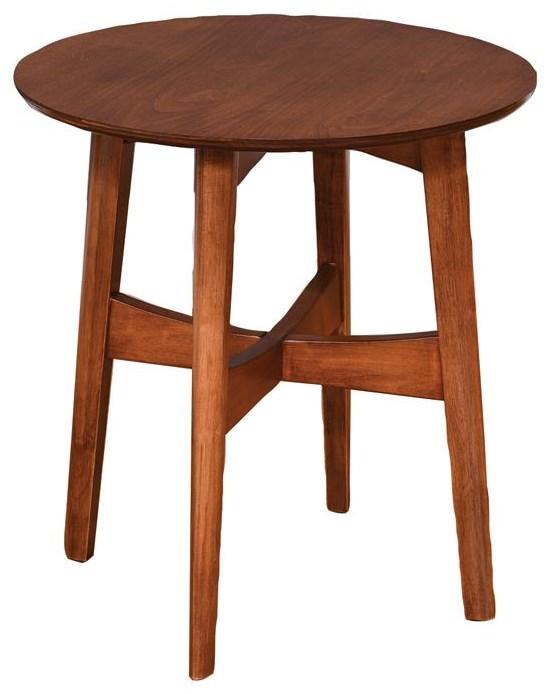Superbe Wayside Custom Furniture Lodi Round End Table