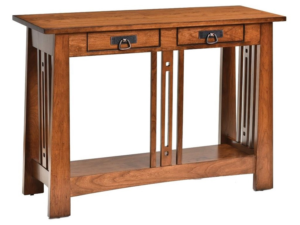 Aspen Sofa Table by Wayside Custom Furniture at Wayside Furniture