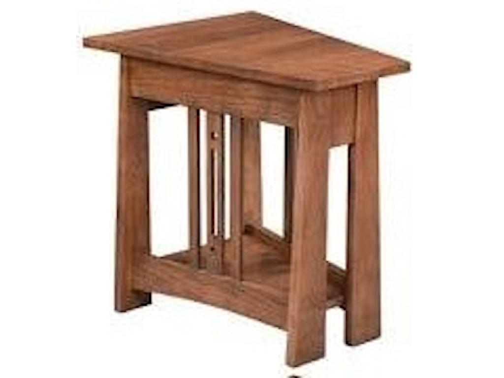 Wayside Custom Furniture AspenWedge End Table