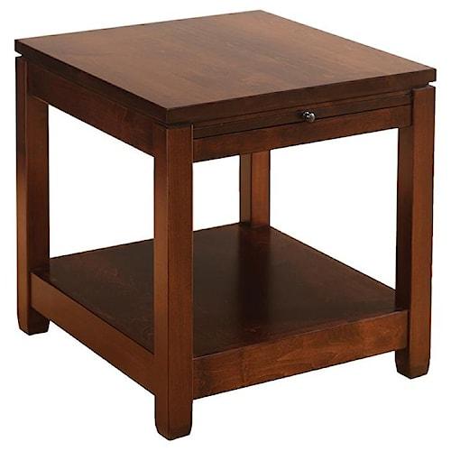 Wayside custom furniture antigo end table wayside furniture end wayside custom furniture antigo end table watchthetrailerfo