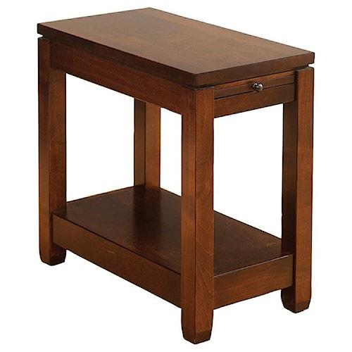 Wayside custom furniture antigo chairside table wayside furniture wayside custom furniture antigo chairside table watchthetrailerfo
