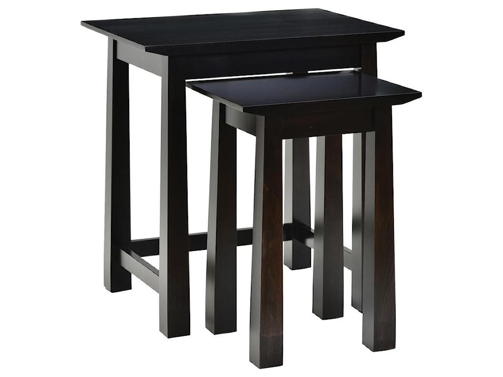 Wayside Custom Furniture AvonNesting Tables
