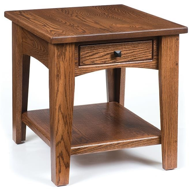 Wayside Custom Furniture Ashford End Table