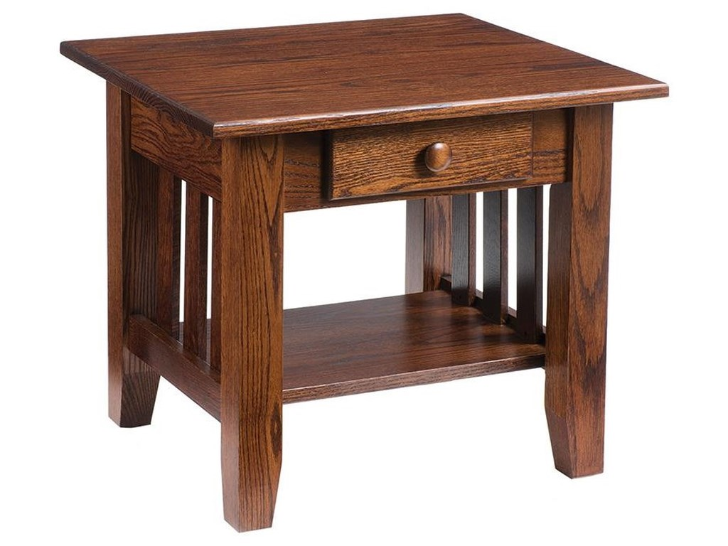 Wayside Custom Furniture MissionEnd Table