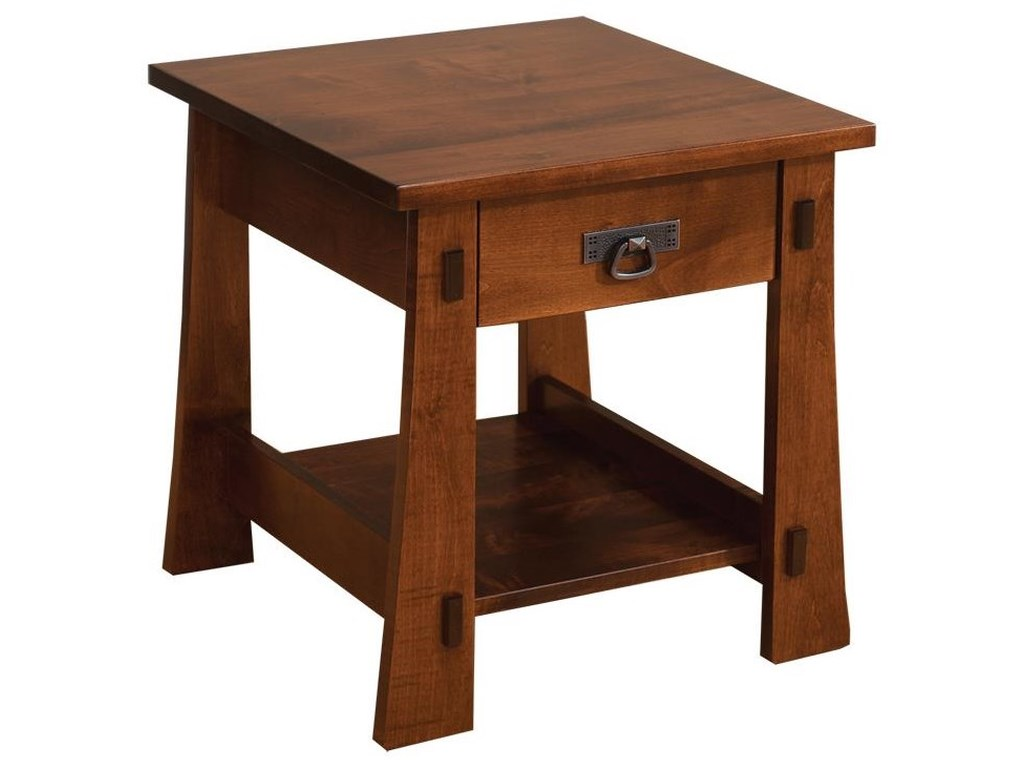 Wayside Custom Furniture MontereyEnd Table