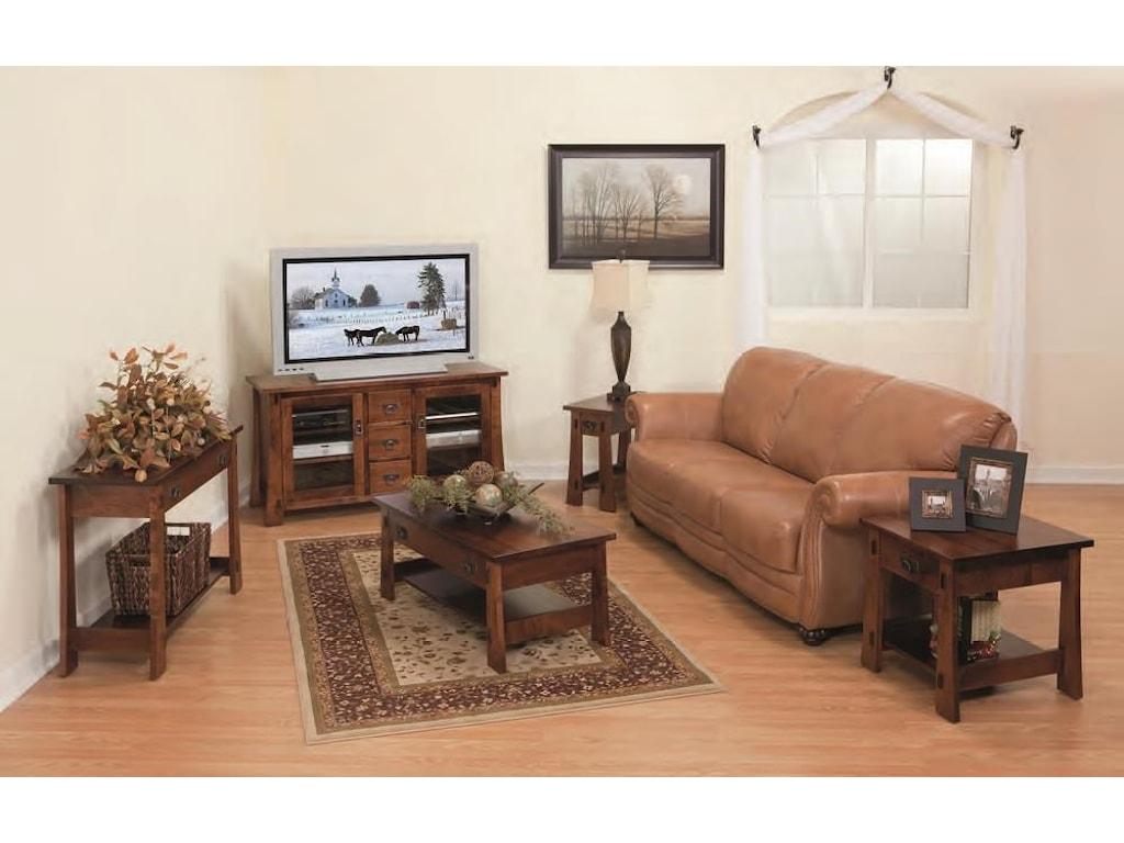 Wayside Custom Furniture MontereyEnd Table