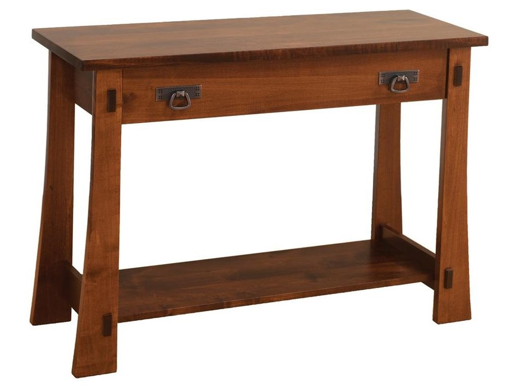 Wayside Custom Furniture MontereySofa Table