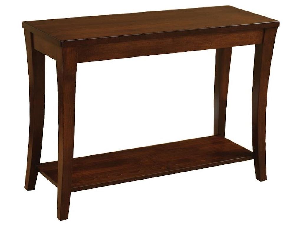 Riviera Sofa Table by Wayside Custom Furniture at Wayside Furniture