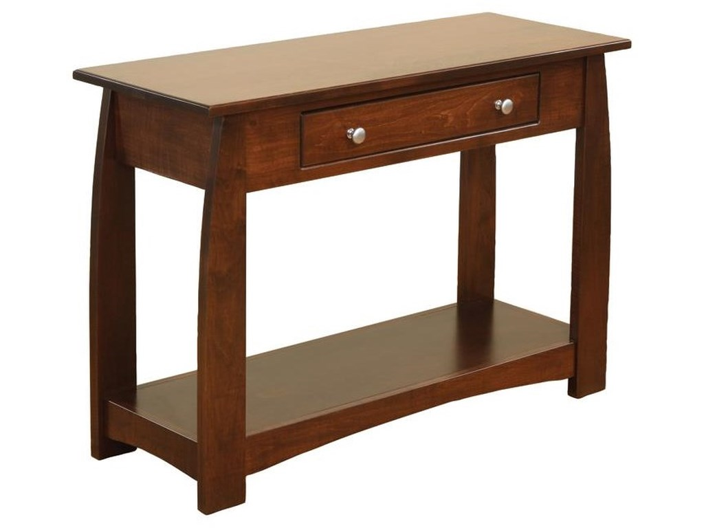 Wayside Custom Furniture SonomaSofa Table