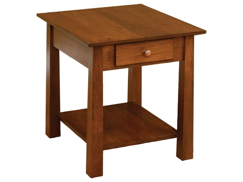Wayside Custom Furniture StratfordEnd Table