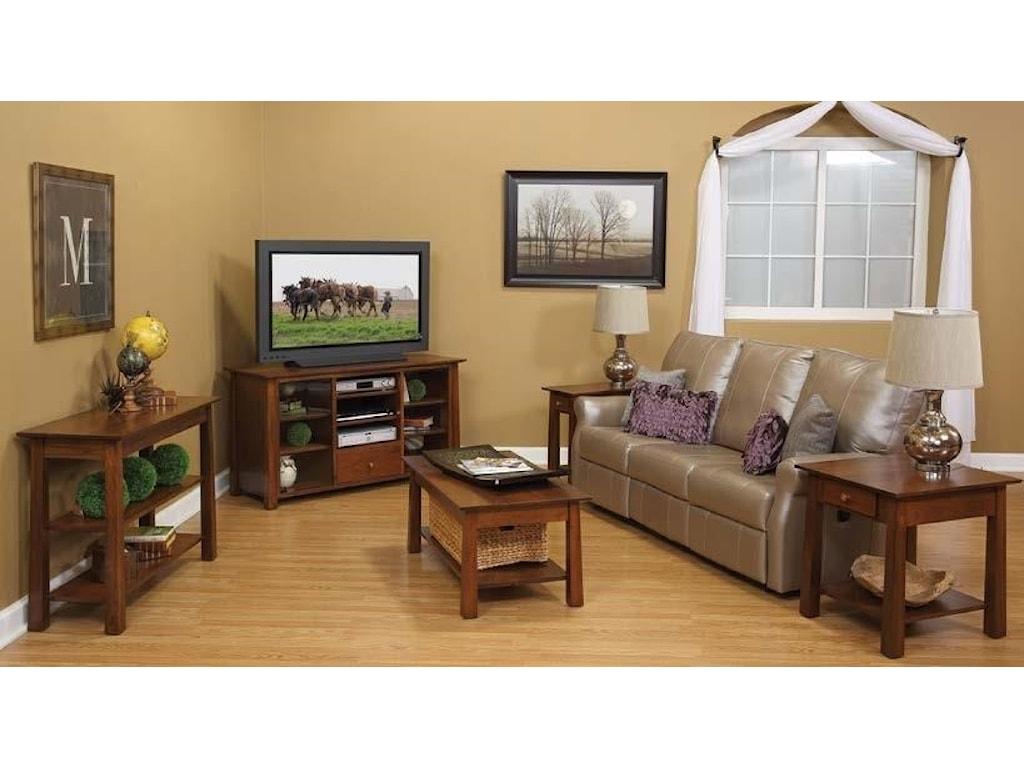 Wayside Custom Furniture StratfordEnd Table