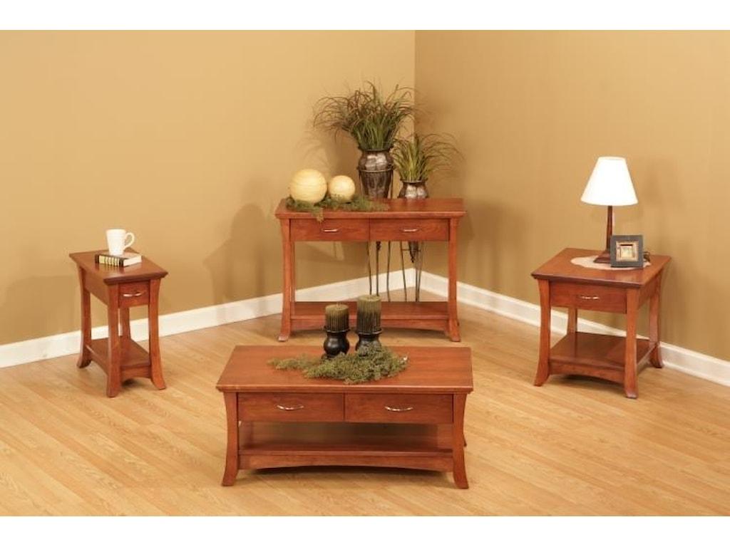 Wayside Custom Furniture VeronaCocktail Table