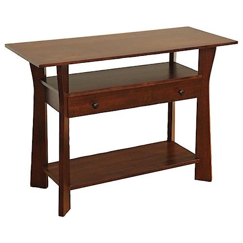 Wayside Custom Furniture Westfield Sofa Table