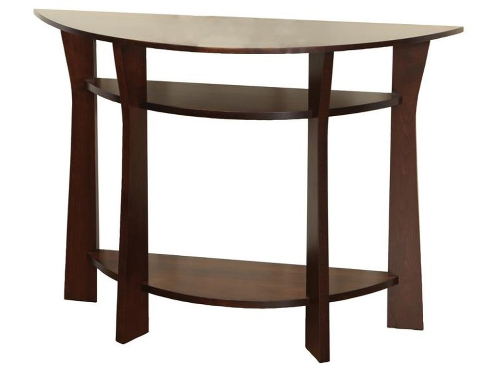 Wayside Custom Furniture Westfield Foyer Table Wayside Furniture Sofa Tables Consoles
