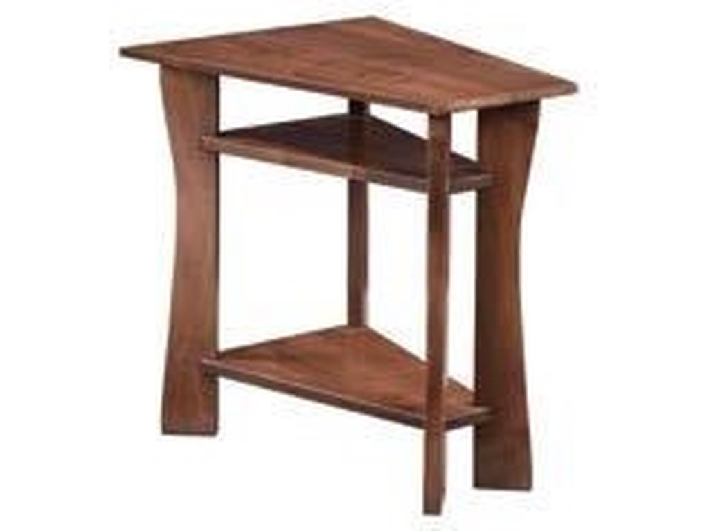 Wayside Custom Furniture WestfieldWedge End Table