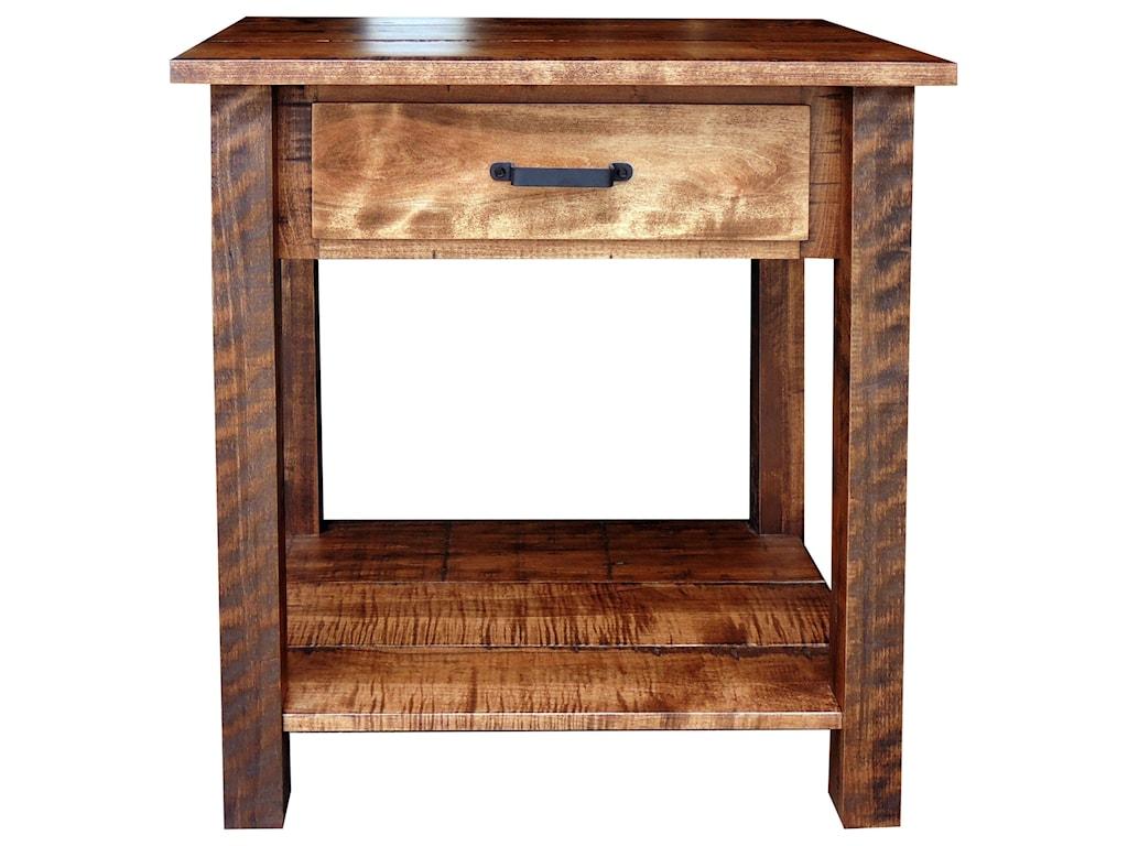 Wayside Custom Furniture Bear CreekOpen Night Stand