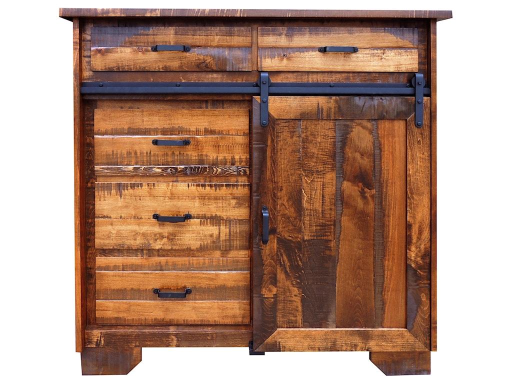 Wayside Custom Furniture Bear Creek5 Drawer Chest