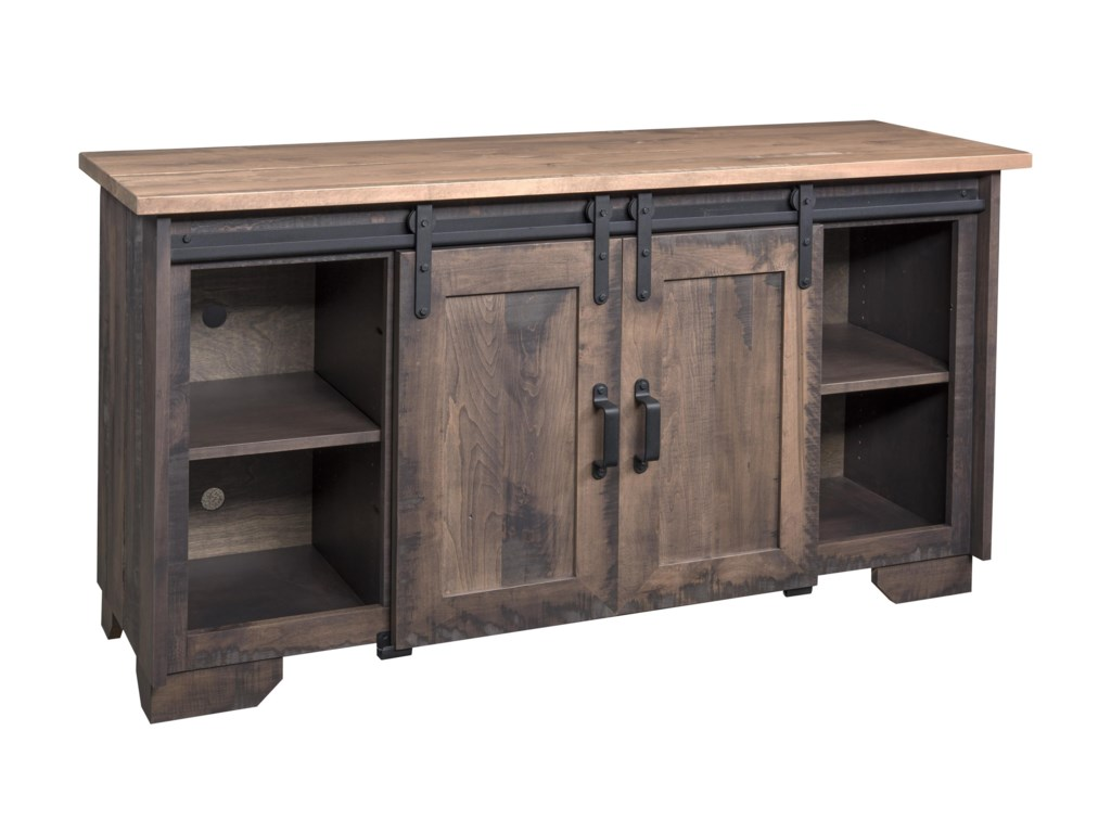 Wayside Custom Furniture Solid Wood TV Stands62