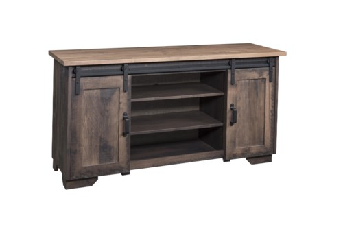 Latest Wayside Custom Furniture Solid Wood TV Stands 62 Luxury - New solid wood barn door Minimalist