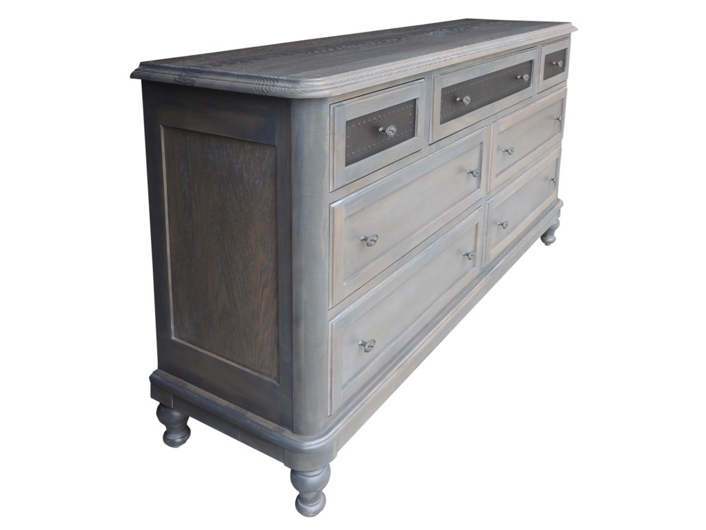 Wayside Custom Furniture Tribecca7 Drawer Dresser