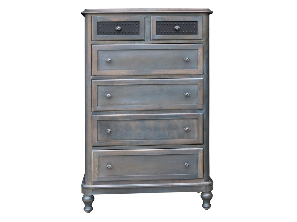 Wayside Custom Furniture Tribecca6 Drawer Chest