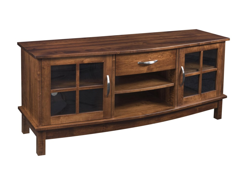 Wayside Custom Furniture Solid Wood TV Stands60