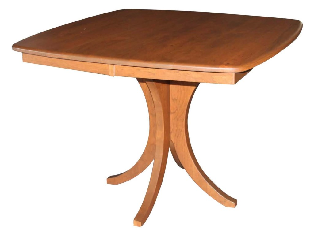 Kountry Hudson Single Pedestal Table By Wayside Custom Furniture At